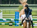 jumping de Chantilly : Navona Gallegos (USA) sur Vatricia