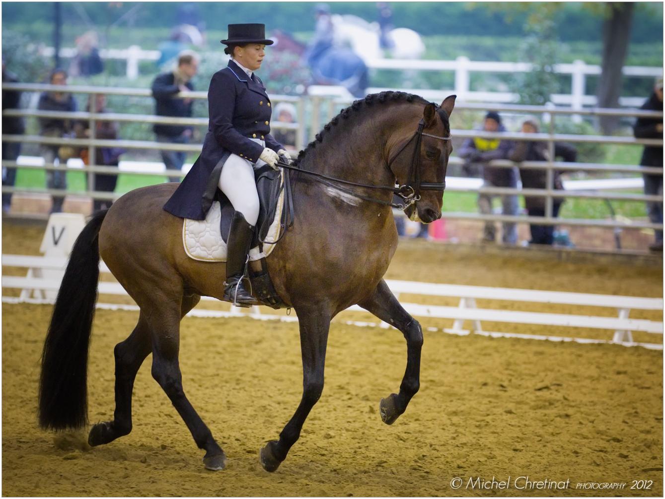 Picture of Veronique Pruede (FRA) & Seni LLoron