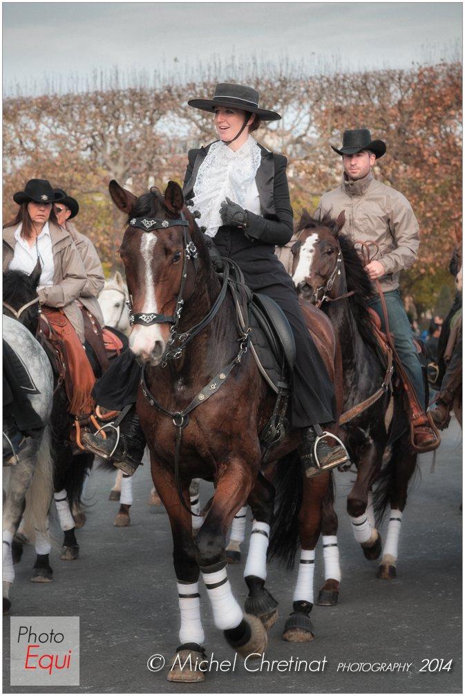 Défilé du cheval de Paris 2014
