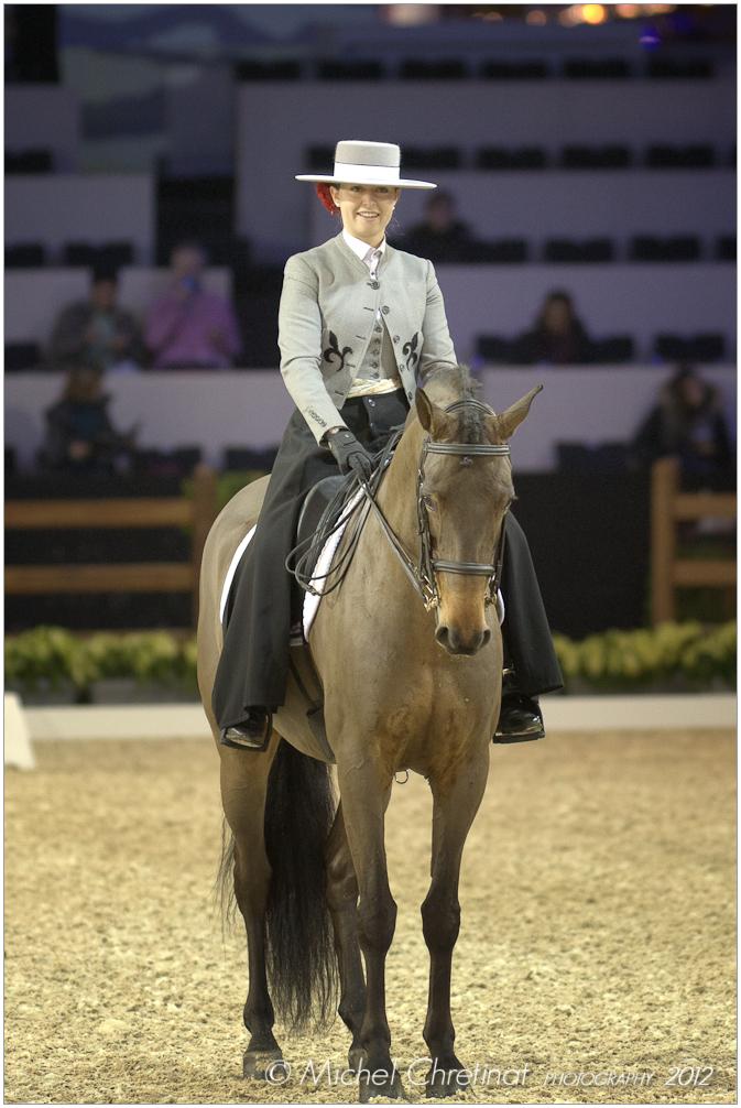 IBERIAN HORSE MASTERS , PARIS 2011