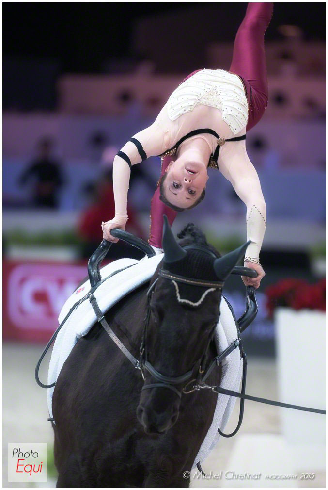 FEI World Cup Vaulting 2014/2015 Paris