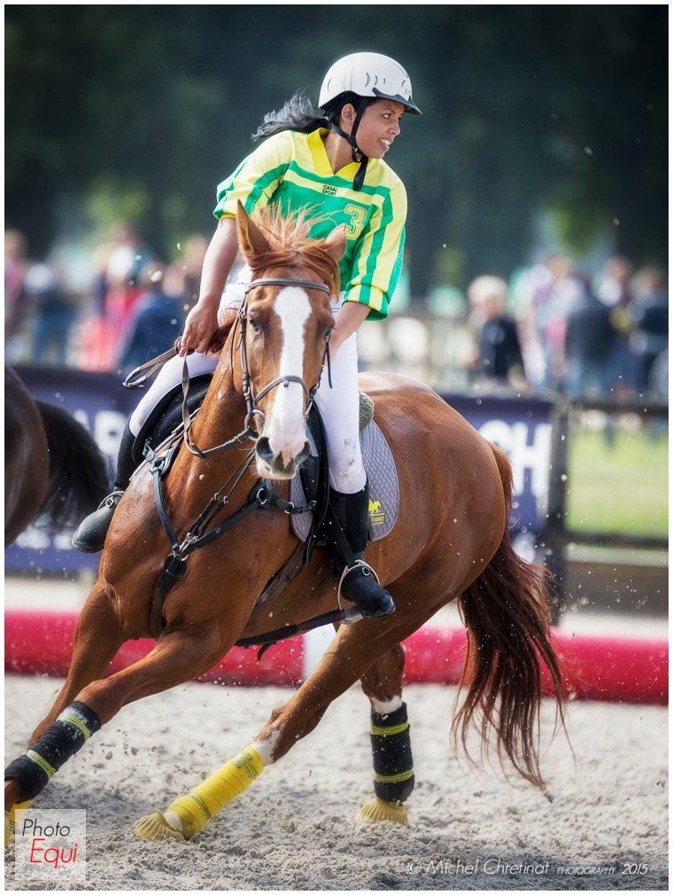 Horse Ball : French Championchip 2015